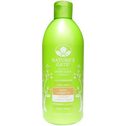Nature's Gate, Conditioner, Nourishing, Hemp Argan Oil 532ml