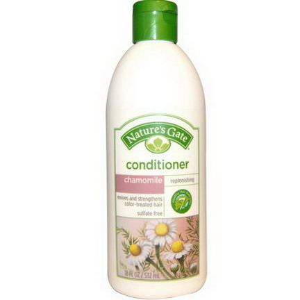 Nature's Gate, Conditioner, Replenishing, Chamomile 532ml