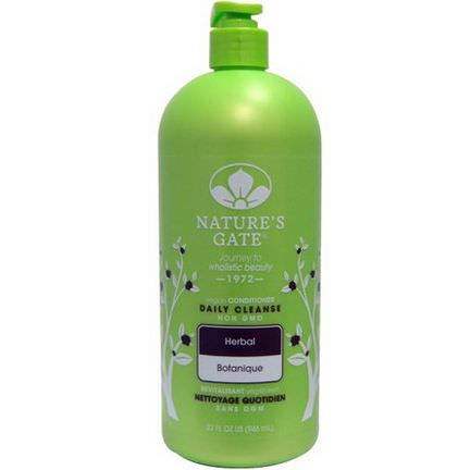 Nature's Gate, Daily Cleanse Conditioner, Herbal 946ml