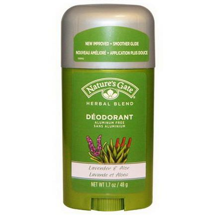 Nature's Gate, Deodorant, Herbal Blend, Lavender&Aloe 48g