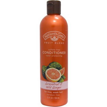 Nature's Gate, Fruit Blend, Conditioner, Color Protecting, Grapefruit&Wild Ginger 354ml