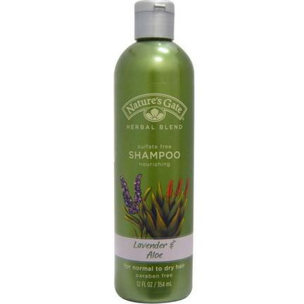 Nature's Gate, Herbal Blend, Shampoo, Lavender&Aloe 354ml