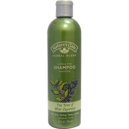 Nature's Gate, Herbal Blend, Shampoo, Tea Tree&Blue Cypress 354ml