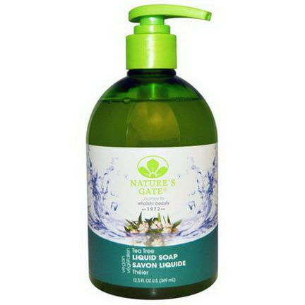 Nature's Gate, Liquid Soap, Tea Tree 369ml