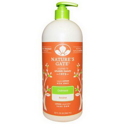 Nature's Gate, Oatmeal Lotion 946ml