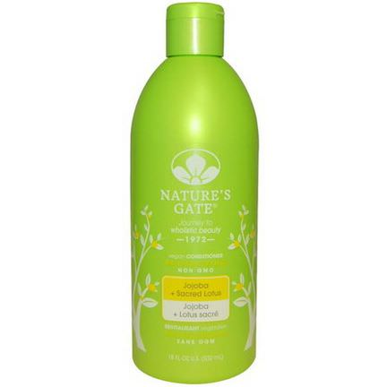 Nature's Gate, Revitalizing Conditioner, Jojoba Sacred Lotus 532ml