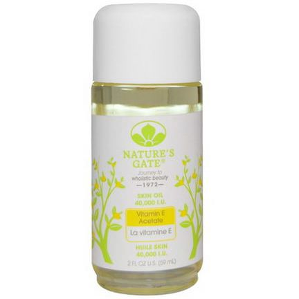 Nature's Gate, Vitamin E Acetate Skin Oil, 40 59ml