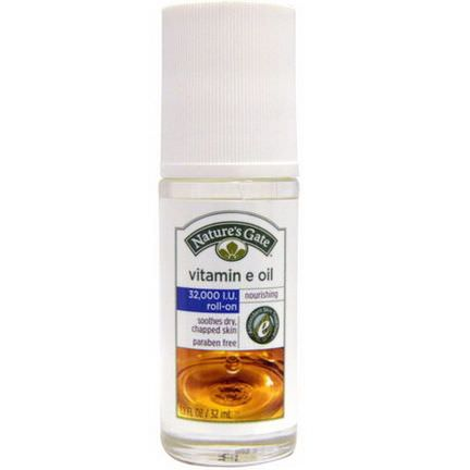 Nature's Gate, Vitamin E Oil, Roll-On, 32,000 IU 32ml