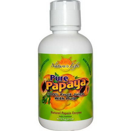 Nature's Life, Pure Papaya 473ml