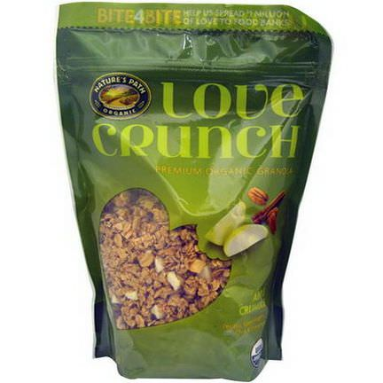 Nature's Path, Love Crunch, Premium Organic Granola, Apple Crumble 325g