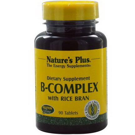 Nature's Plus, B-Complex with Rice Bran, 90 Tablets