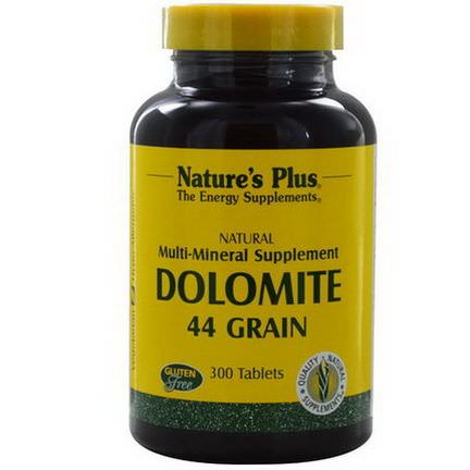 Nature's Plus, Dolomite, 44 Grain, 300 Tablets
