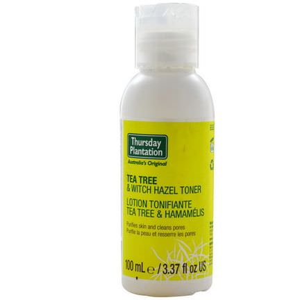 Nature's Plus, Thursday Plantation, Tea Tree&Witch Hazel Toner 100ml