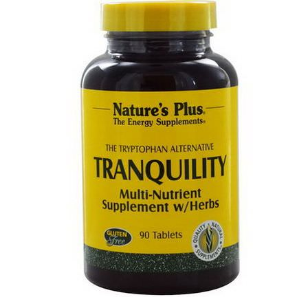 Nature's Plus, Tranquility, 90 Tablets