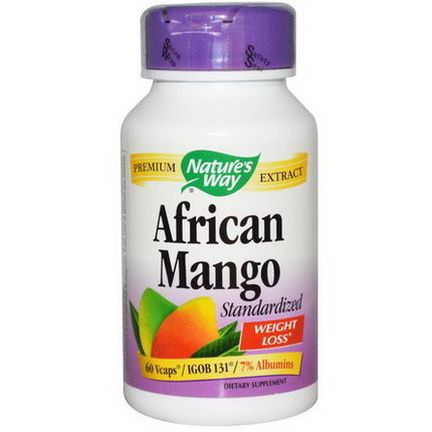 Nature's Way, African Mango, Standardized, 60 Vcaps