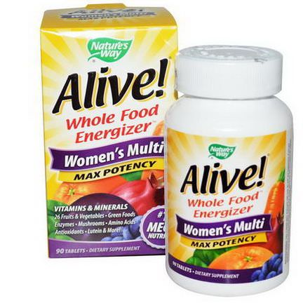 Nature's Way, Alive, Women's Multi, 90 Tablets