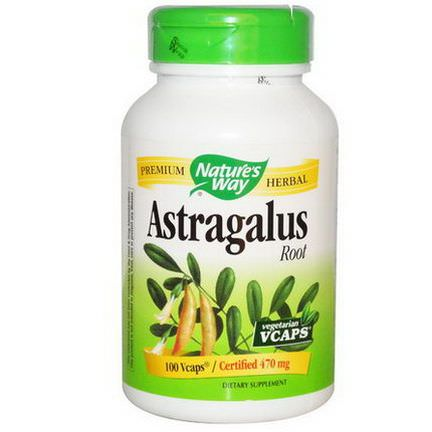 Nature's Way, Astragalus Root, 470mg, 100 Vcaps