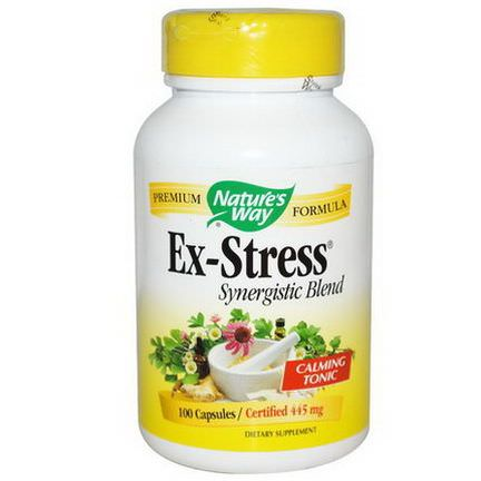Nature's Way, Ex-Stress, 445mg, 100 Veggie Caps