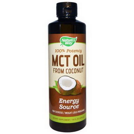 Nature's Way, MCT Oil From Coconut 474ml