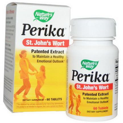 Nature's Way, Perika, St. John's Wort, 60 Tablets