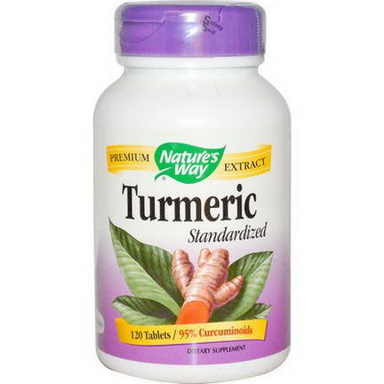 Nature's Way, Turmeric Standardized, 120 Tablets