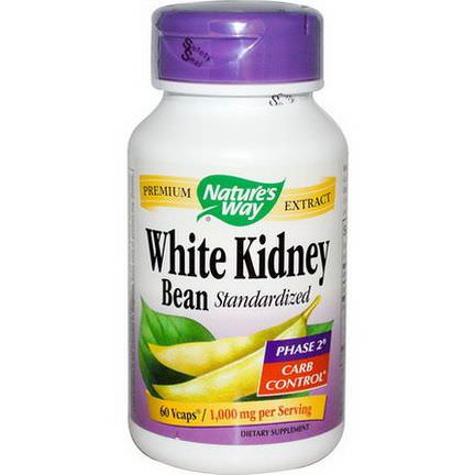 Nature's Way, White Kidney Bean Standardized, 60 Vcaps