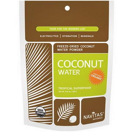 Navitas Naturals, Organic, Coconut Water, Freeze-Dried Powder 165g