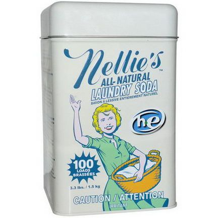 Nellie's All-Natural, Laundry Soda, 100 Loads 1.5 kg
