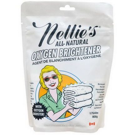 Nellie's All-Natural, Oxygen Brightener 800g