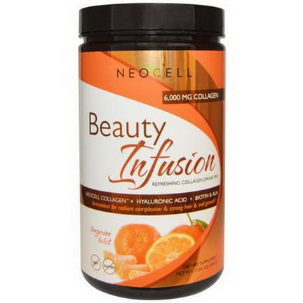 Neocell, Beauty Infusion, Refreshing Collagen Drink Mix,Tangerine Twist 330g