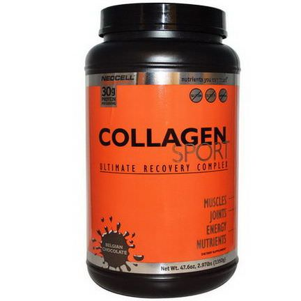 Neocell, Collagen Sport, Ultimate Recovery Complex, Belgian Chocolate 1350g
