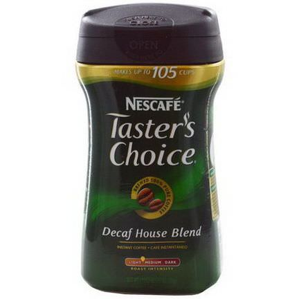 Nescafe, Taster's Choice Instant Coffee, Decaf House Blend 198g