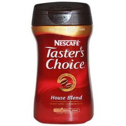 Nescafe, Taster's Choice, Instant Coffee, House Blend 198g