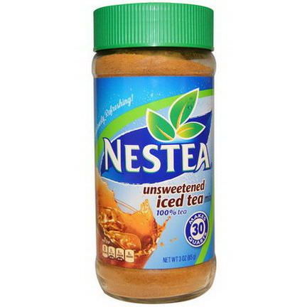 Nestea, Iced Tea Mix, Unsweetened 85g