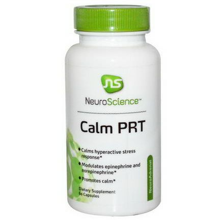 NeuroScience, Inc. Calm PRT, 60 Capsules
