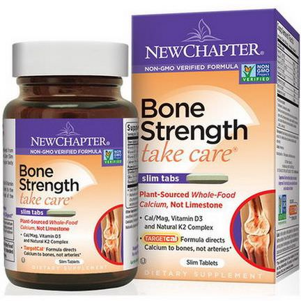 New Chapter, Bone Strength Take Care, 30 Slim Tablets