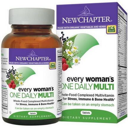 New Chapter, Every Woman's One Daily Multi, 96 Tablets