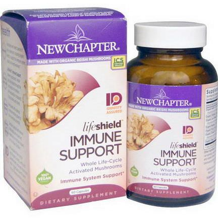 New Chapter, Lifeshield, Immune Support, 60 Capsules