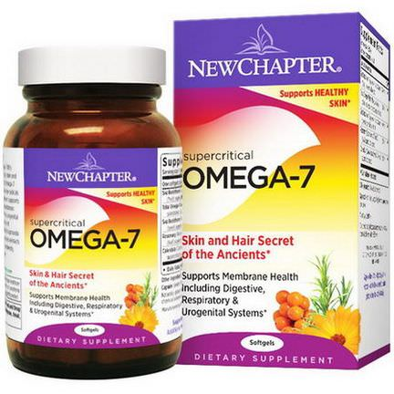 New Chapter, Supercritical Omega-7, 30 Softgels