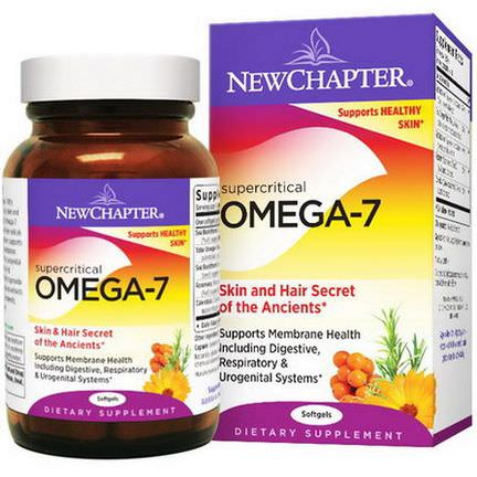 New Chapter, Supercritical Omega-7, 60 Softgels