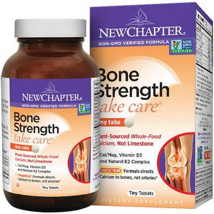 New Chapter, Take Care, Bone Strength, 240 Tiny Tablets