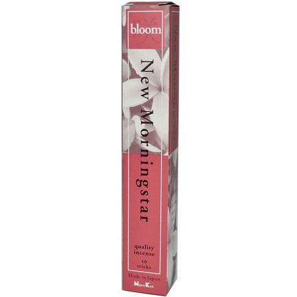Nippon Kodo, New Morning Star, Bloom Incense, 40 Sticks