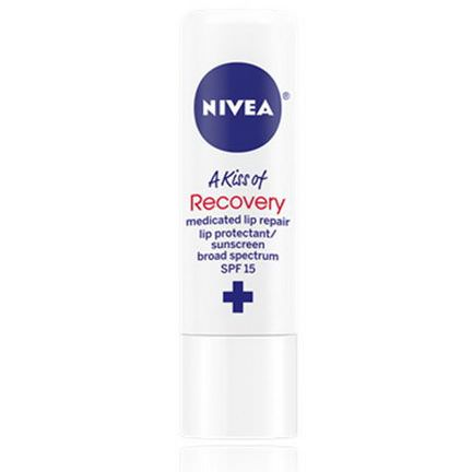 Nivea, A Kiss of Recovery, Medicated Lip Repair, SPF 15 4.8g