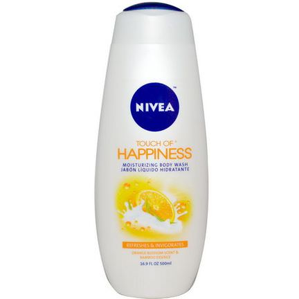Nivea, Touch of Happiness, Moisturizing Body Wash 500ml