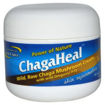 North American Herb&Spice Co. Power of Nature, ChagaHeal, Skin Rejuvenation 60ml