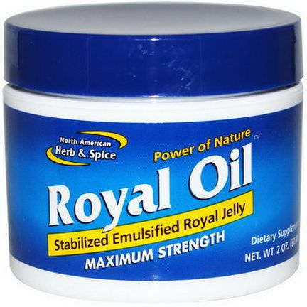 North American Herb&Spice Co. Royal Oil, Maximum Strength 60ml