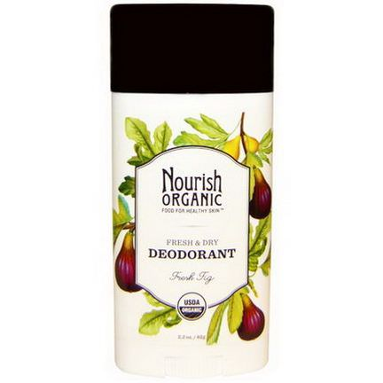 Nourish Organic, Fresh&Dry Deodorant, Fresh Fig 62g