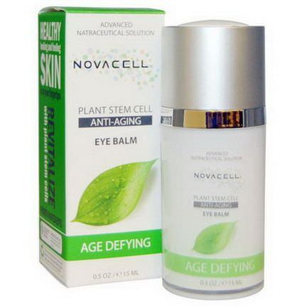 Novacell, Plant Stem Cell, Eye Balm, Age Defying 15ml