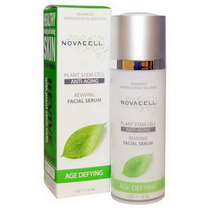 Novacell, Plant Stem Cell, Reviving Facial Serum, Age Defying 30ml