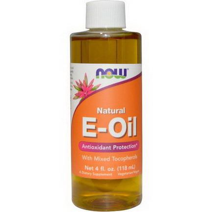 Now Foods, Natural E-Oil 118ml